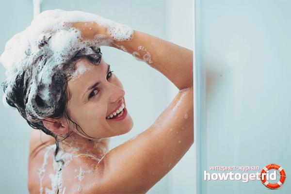 Мытьё головы