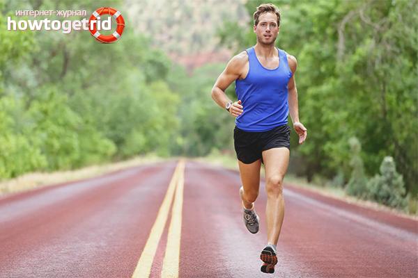 Полезные свойства бега для мужского организма