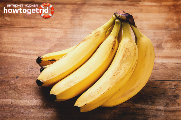 Польза и вред бананов