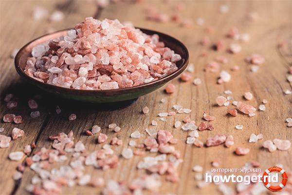 Польза и вред гималайской розовой соли