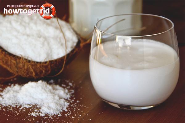 Польза кокосового молока для беременных и кормящих женщин