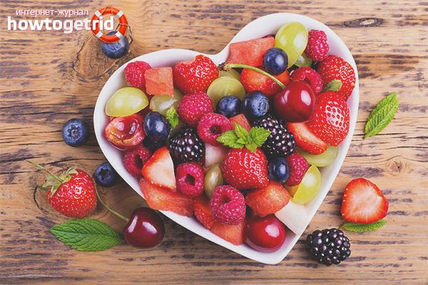 Список разрешенных фруктов кормящей маме