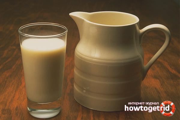 Топлёное молоко в мультиварке