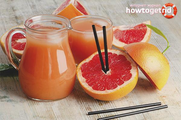 Польза грейпфрутового сока для женщин