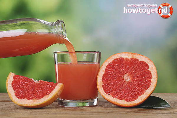 Польза и вред грейпфрутового сока для детей