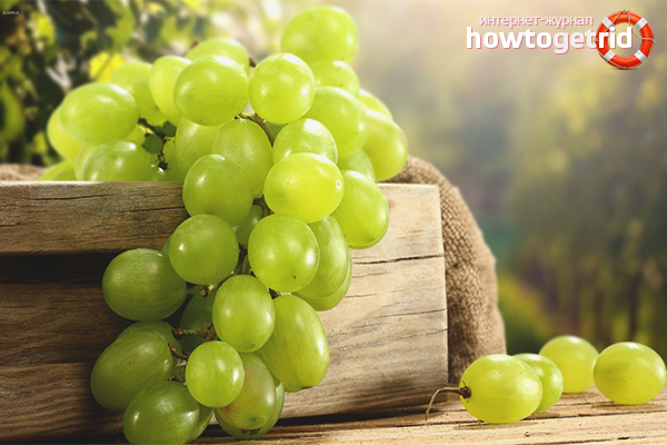 Польза и вред винограда для детей