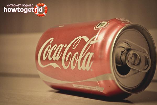 Польза Кока-колы в быту