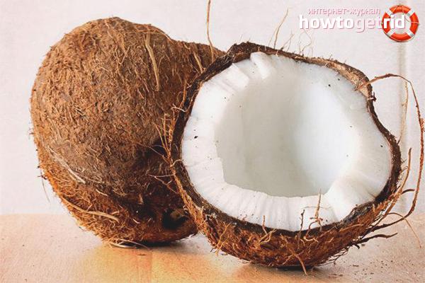 Польза кокоса для детей