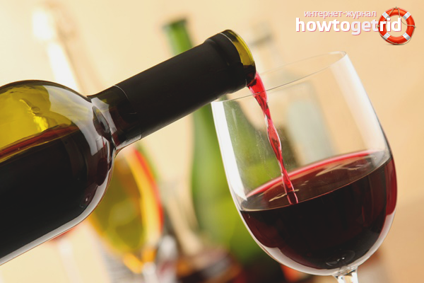 Польза красного вина для мужчин