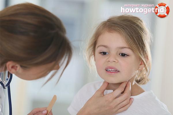 При каких заболеваниях может болеть горло