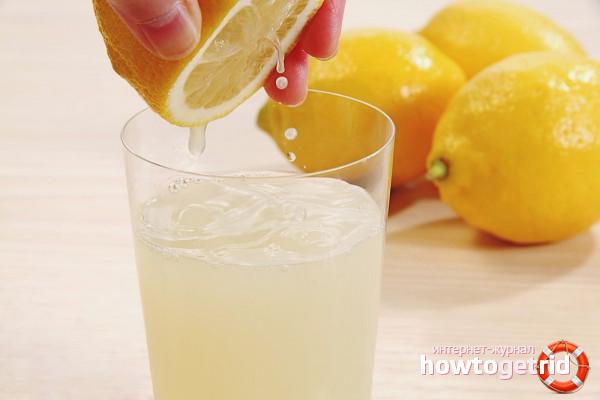Сок лимона в диетологии