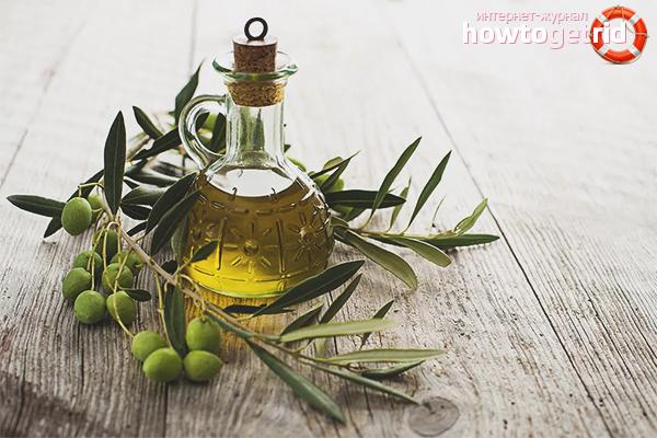 Способы применения оливкового масла для волос