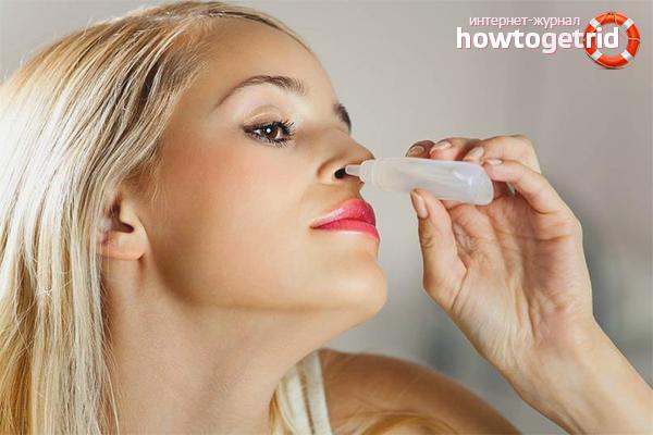 Домашние капли от насморка и заложенности носа