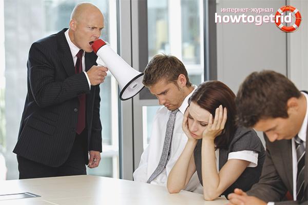 Как реагировать на хамство начальника