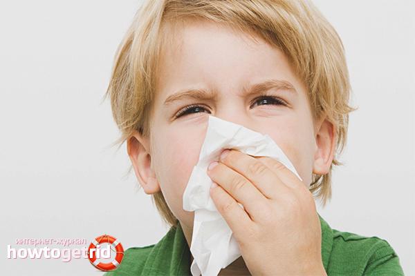 Как вылечить затяжной насморк у ребенка