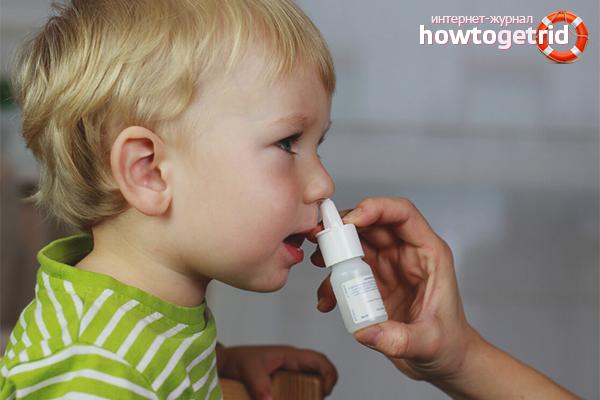 Как закапывать в нос лекарства