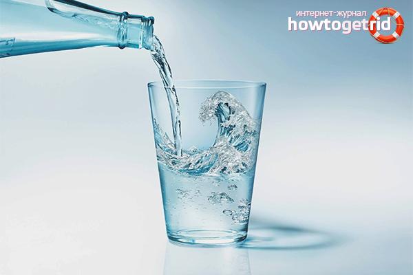 Минеральная вода при беременности и лактации