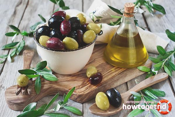Наружное использование оливкового масла