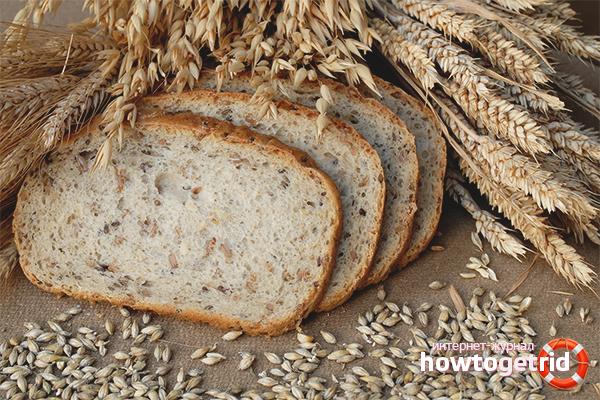 Польза и вред хлеба с отрубями