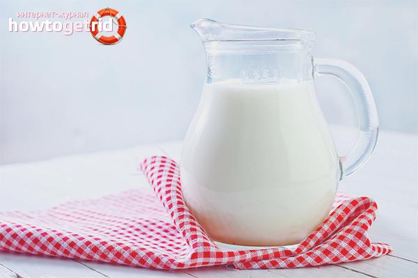 Польза и вред молока