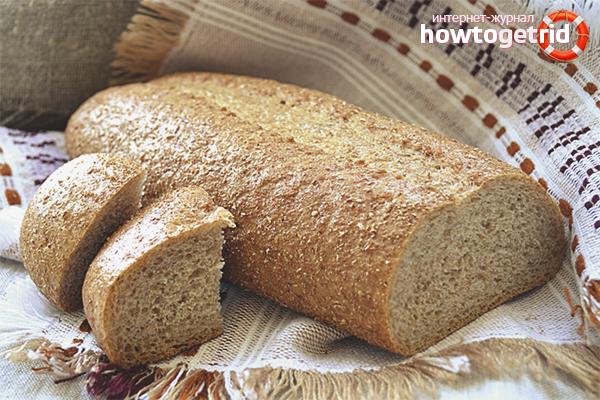 Польза отрубного хлеба для пищеварения