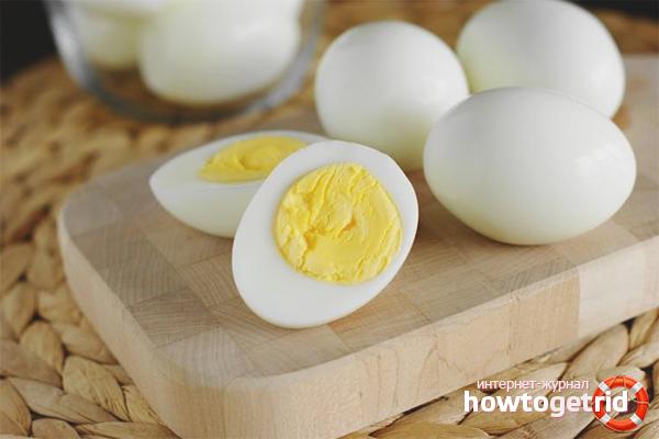 Польза варёных яиц для женщин