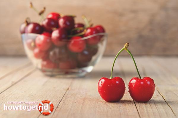 Польза вишни для сердца