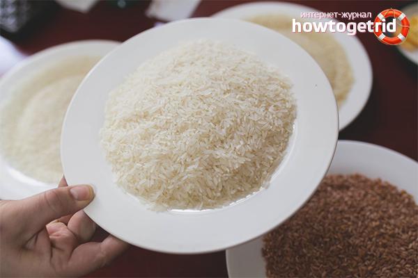 Правила выбора риса