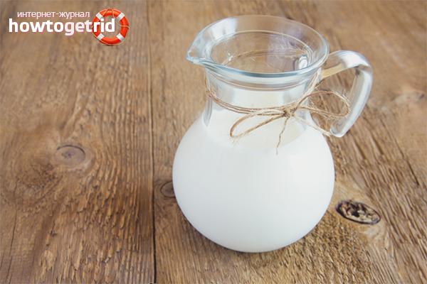 Вред молока при похудении