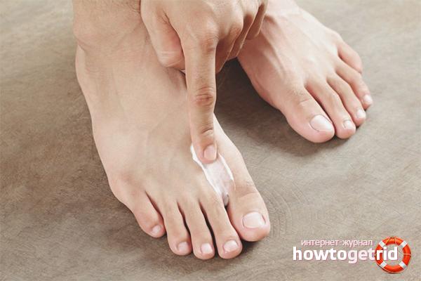 Аптечные средства против неприятного запаха ног