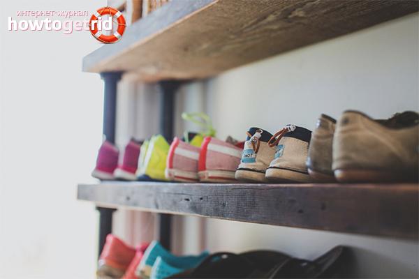 Хранение сезонной обуви