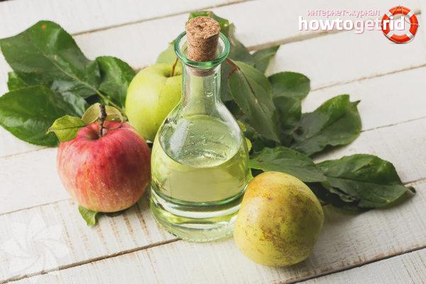 Яблочный уксус при менструации