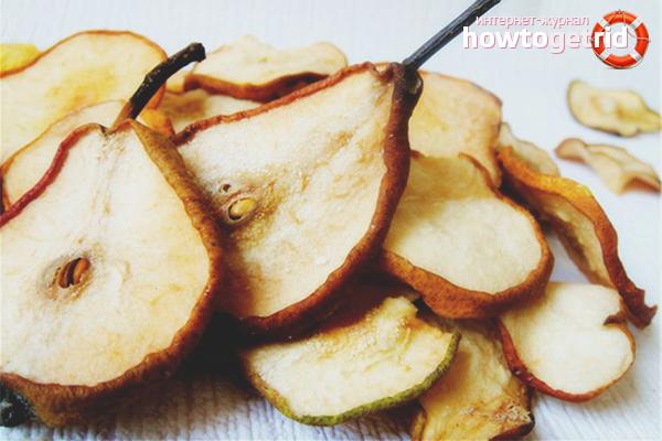Как сушить грушу, чтобы сохранить все витамины