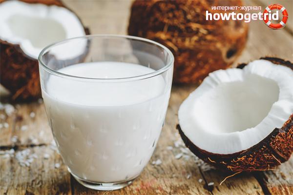 Кокосовое молоко для увлажнения волос