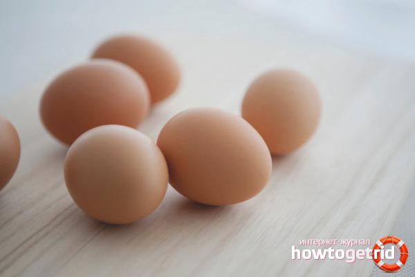 Куриные яйца для здоровья глаз
