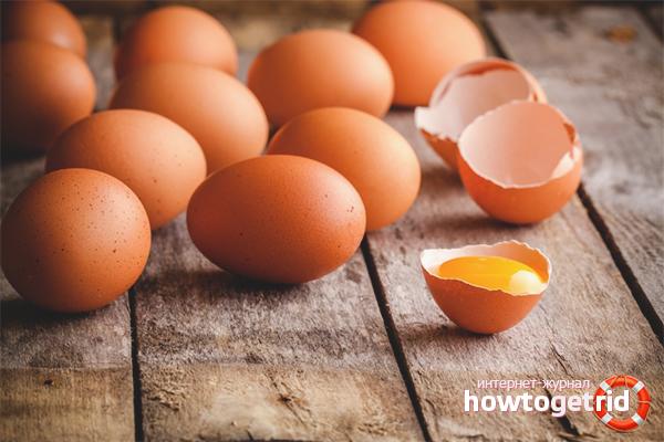 Положительное влияние яиц на организм