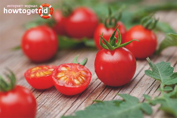 Польза помидоров черри