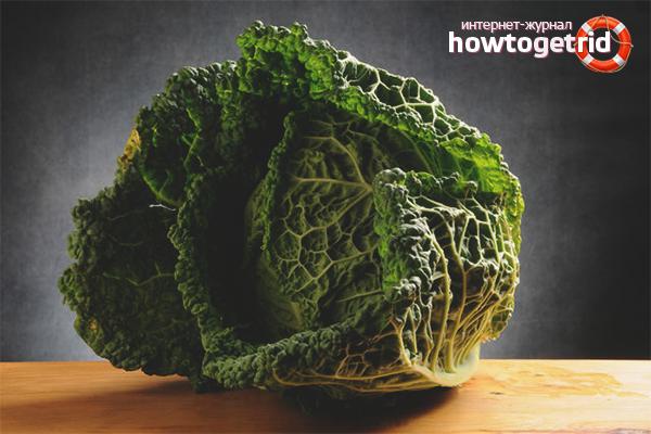 Польза савойской капусты при диабете