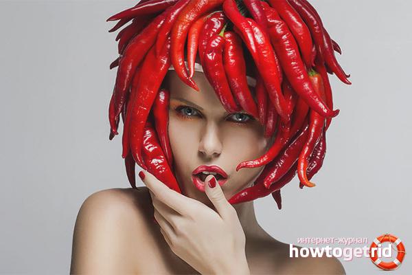 Согревающие маски от выпадения волос