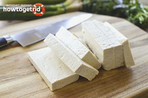 Способы приготовления тофу