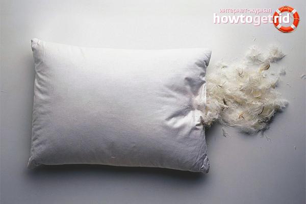 Виды натуральных наполнителей для подушек