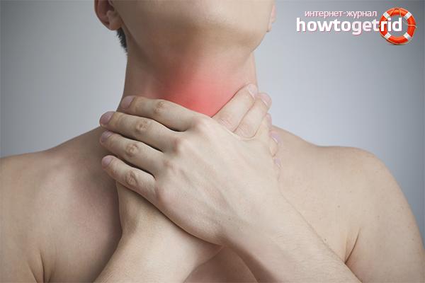 Как бороться с больным горлом