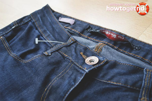 Как проверить джинсы перед покупкой на линьку