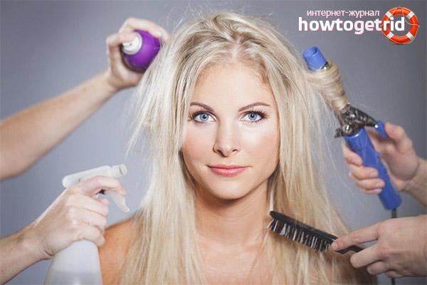 Как ухаживать за волосами, чтобы они не были жирными