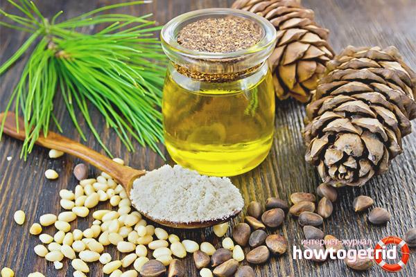 Кедровое масло при заболеваниях