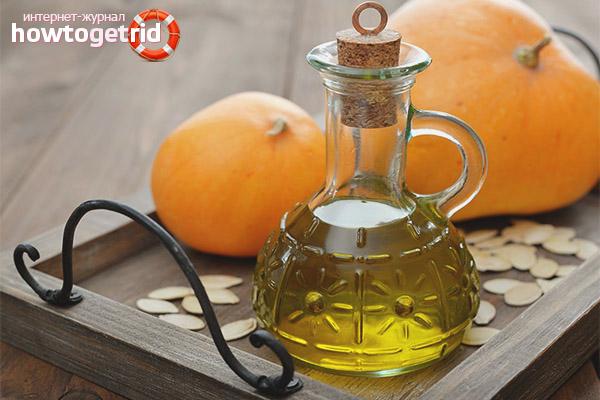 Лечение тыквенным маслом