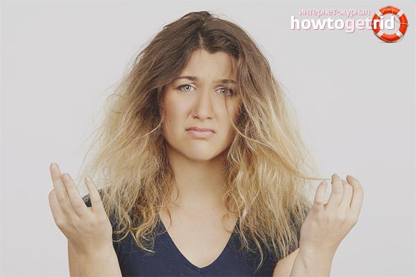Ломаются волосы
