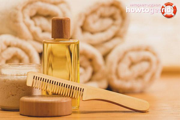 Масла для увлажнения волос