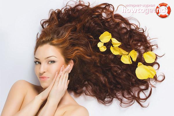 Народные средства против жирности волос