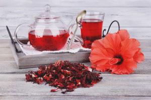 Полезные свойства и противопоказания чая каркаде